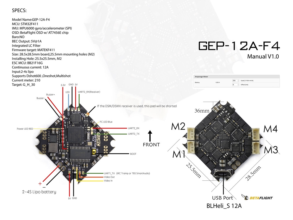 GEPRC GEP-12A-F4