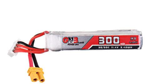 Gaoneng 11.4V 300mAh 30C/60C 3S HV 4.35V Lipo Battery XT30